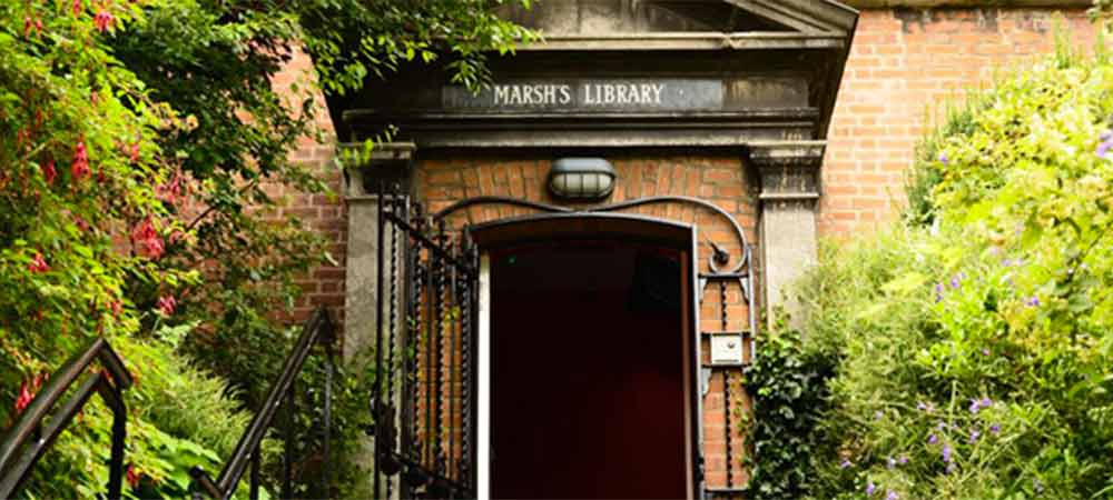 marsh's library for Open House in The Liberties